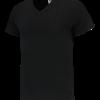 TFV160 - Black - T-shirt V hals Fitted - 101005 01