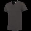 TFV160 - Darkgrey - T-shirt V hals Fitted - 101005 01