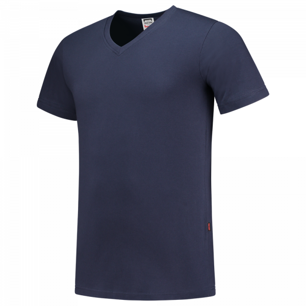 TFV160 - Ink - T-shirt V hals Fitted - 101005 01