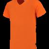 TFV160 - Orange - T-shirt V hals Fitted - 101005 01