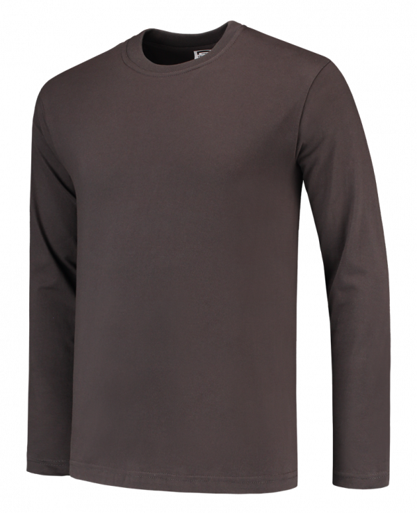 Tricorp T-shirt lange mouw Darkgrey