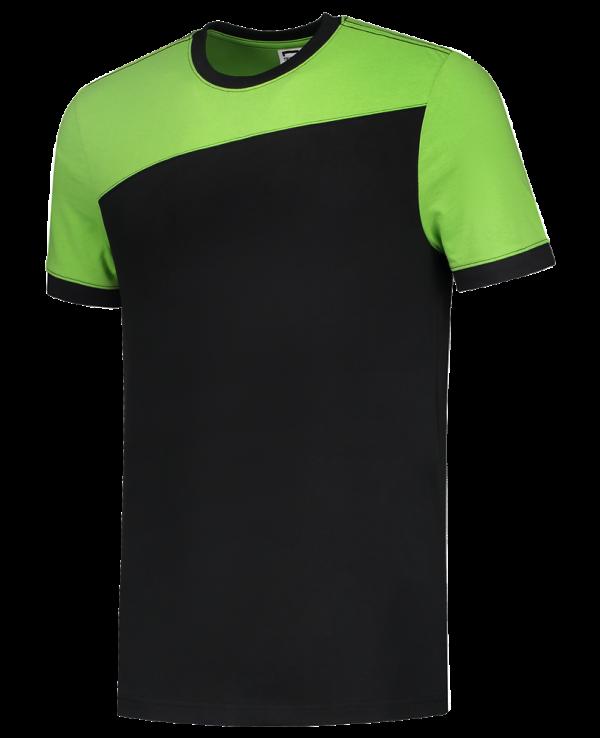 102006 - T-shirt bicolor naden - 01